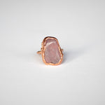 Rose Quartz Ring - Size 7