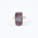Rose Quartz Ring - Size 8