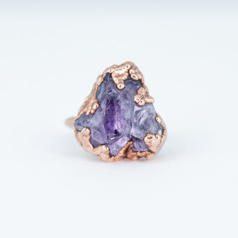 Amethyst Ring - Size 8.5