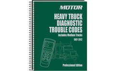 Heavy truck diagnostic trouble codes