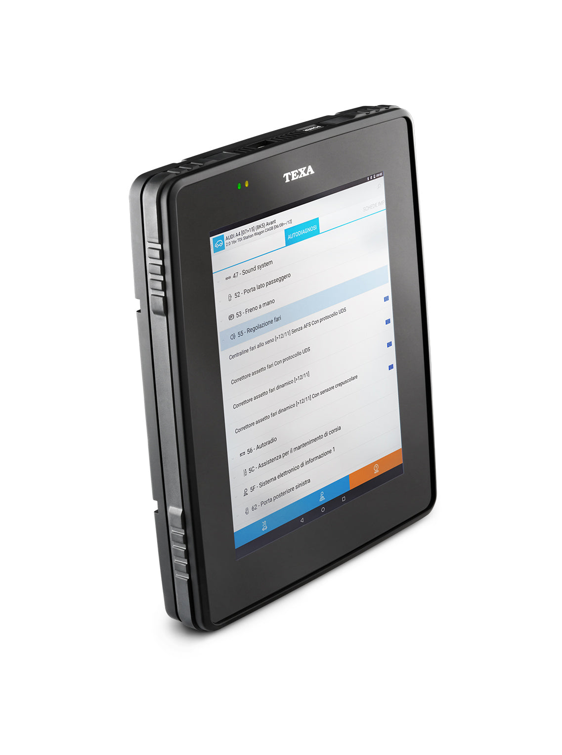 Tablet Axone con software IDC5 Car