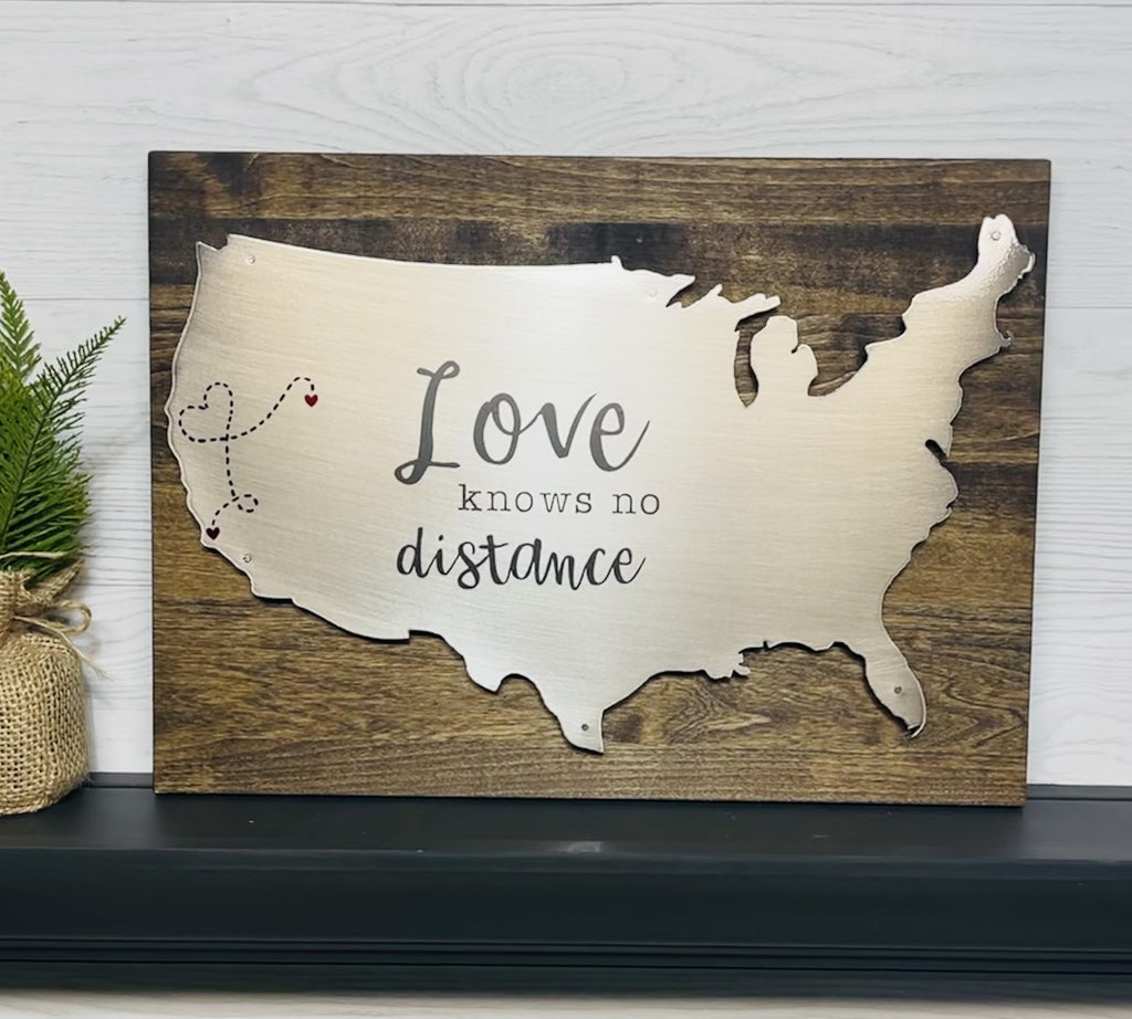 USA Love Knows No Distance