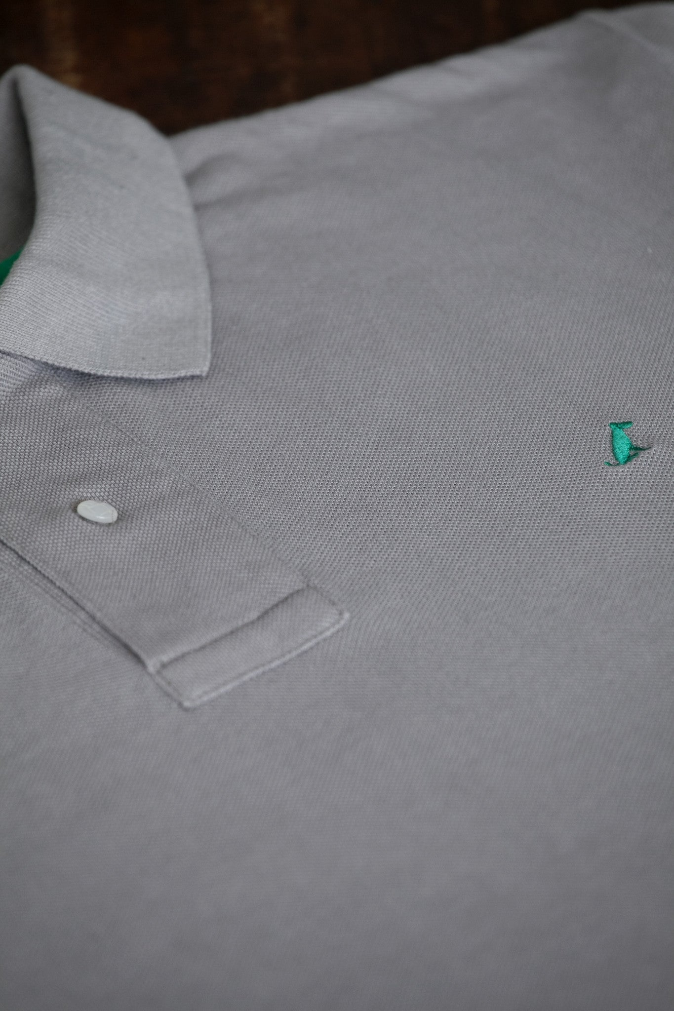 The Terrier Polo – Grey