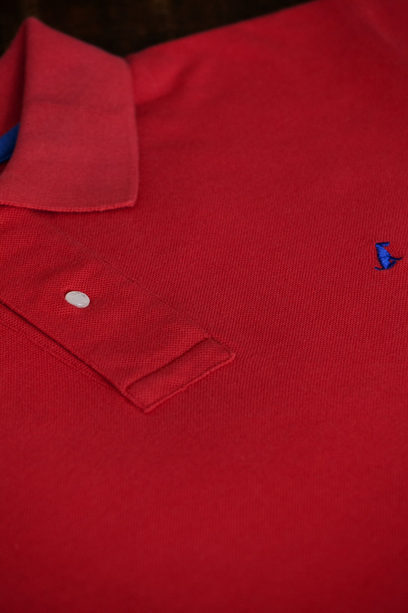 The Terrier Polo – Red