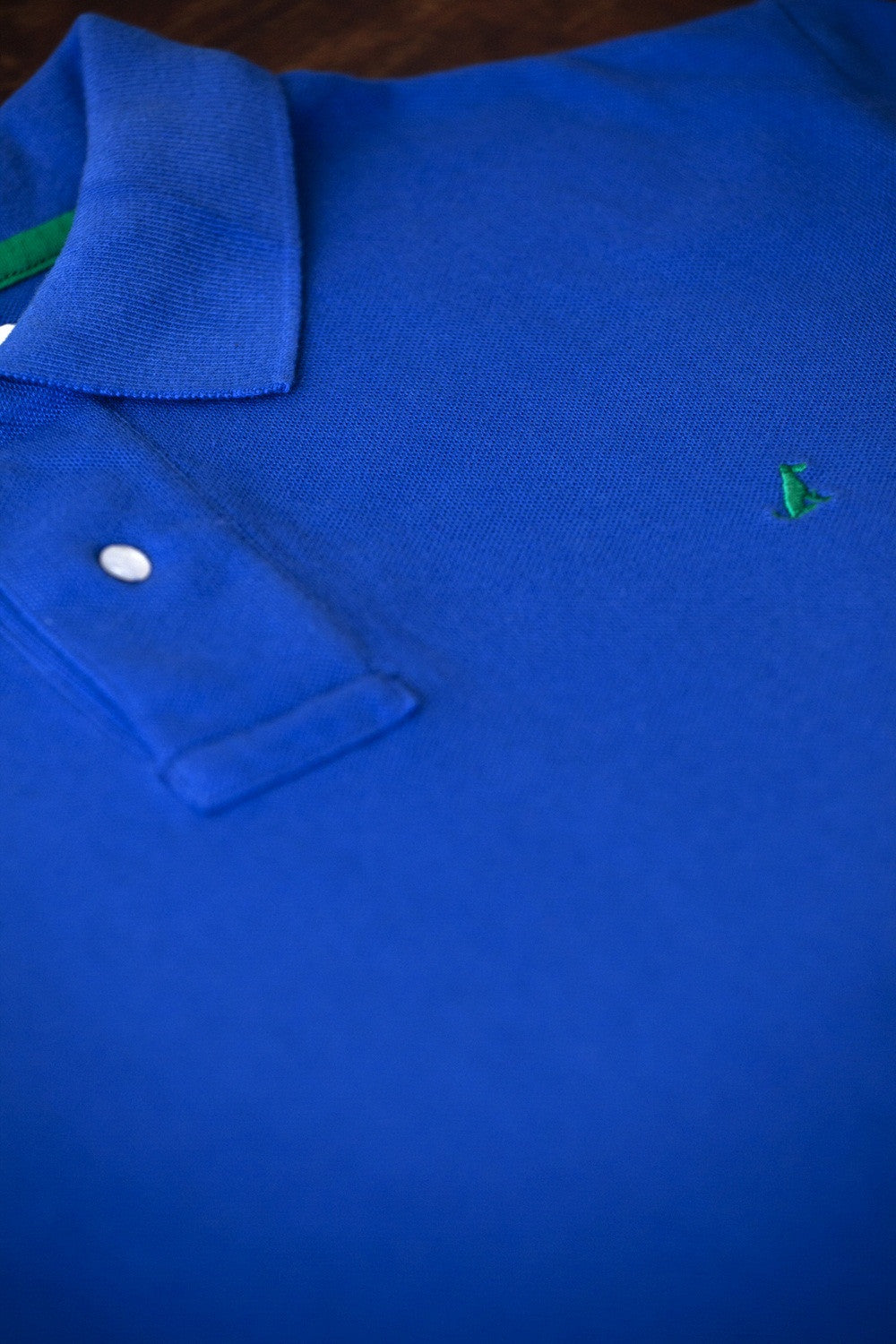 The Terrier Polo – Electric Blue