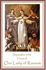 September Marian Triduum, End to Moslem Persecution