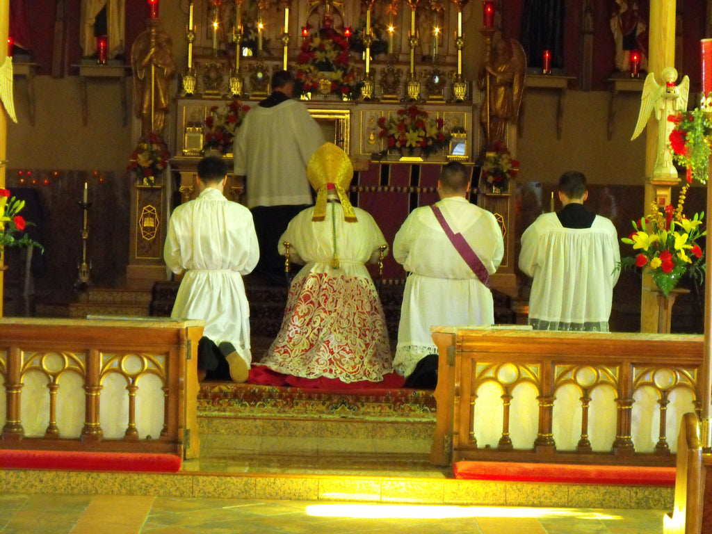 Webcasting the Traditional Liturgy to the World — St