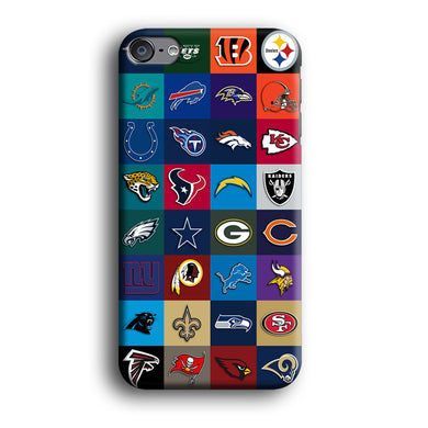 American Football Teams NFL iPod Touch 6 3D Case