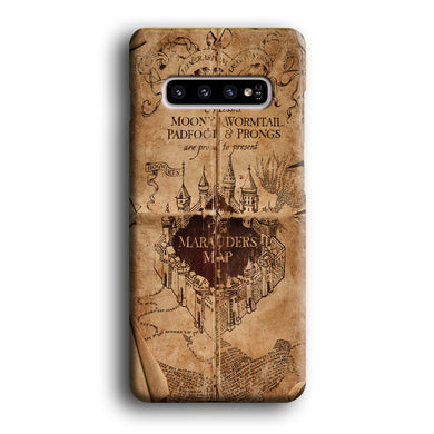 Harry Potter The Marauder's Map Samsung Galaxy S10 3D Case