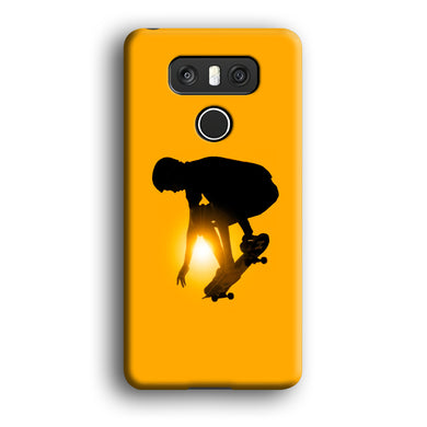 Men Play Skateboard LG G6 3D Case