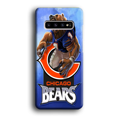 NFL Chicago Bears 001 Samsung Galaxy S10 3D Case