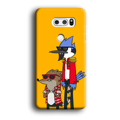Regular Show Rigby and Mordecai LG V30 3D Case