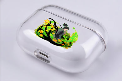 Shikamaru Nara Hard Plastic Protective Clear Case Cover For Apple Airpod Pro