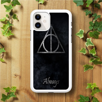 The Deathly Hallows Symbol Always iPhone 11 Case