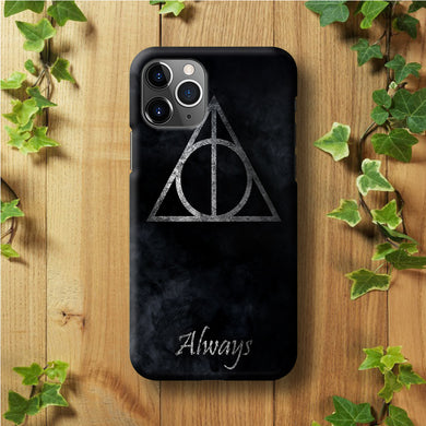The Deathly Hallows Symbol Always Stripe iPhone 11 Pro Max Case