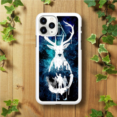 The Deathly Hallows Symbol Deer iPhone 11 Pro Max Case