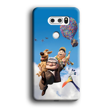 UP Fly in The Sky LG V30 3D Case