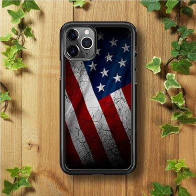 USA Flag 001 iPhone 11 Pro Max Case