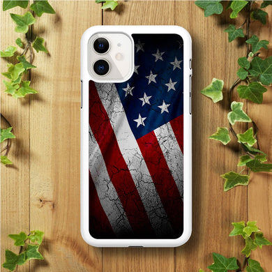 USA Flag 001 iPhone 11 Case