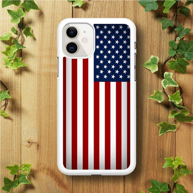USA Flag 003 iPhone 11 Case