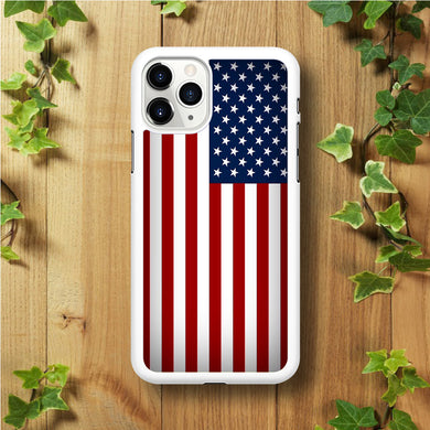 USA Flag 003  iPhone 11 Pro Max Case