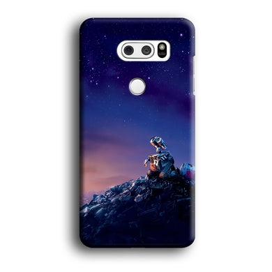 Wall-e Looks Up at The Sky LG V30 3D Case