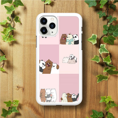 We Bare Bear Daily Life  iPhone 11 Pro Max Case