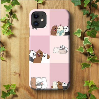 We Bare Bear Daily Life iPhone 11 Case