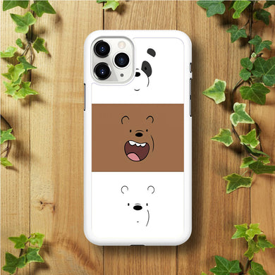 We Bare Bear Face iPhone 11 Pro Max Case