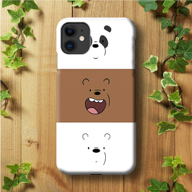 We Bare Bear Face iPhone 11 Case