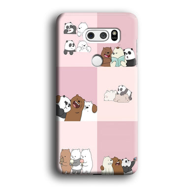 We Bare Bear Daily Life LG V30 3D Case