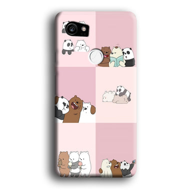 We Bare Bear Daily Life Google Pixel 2 XL 3D Case