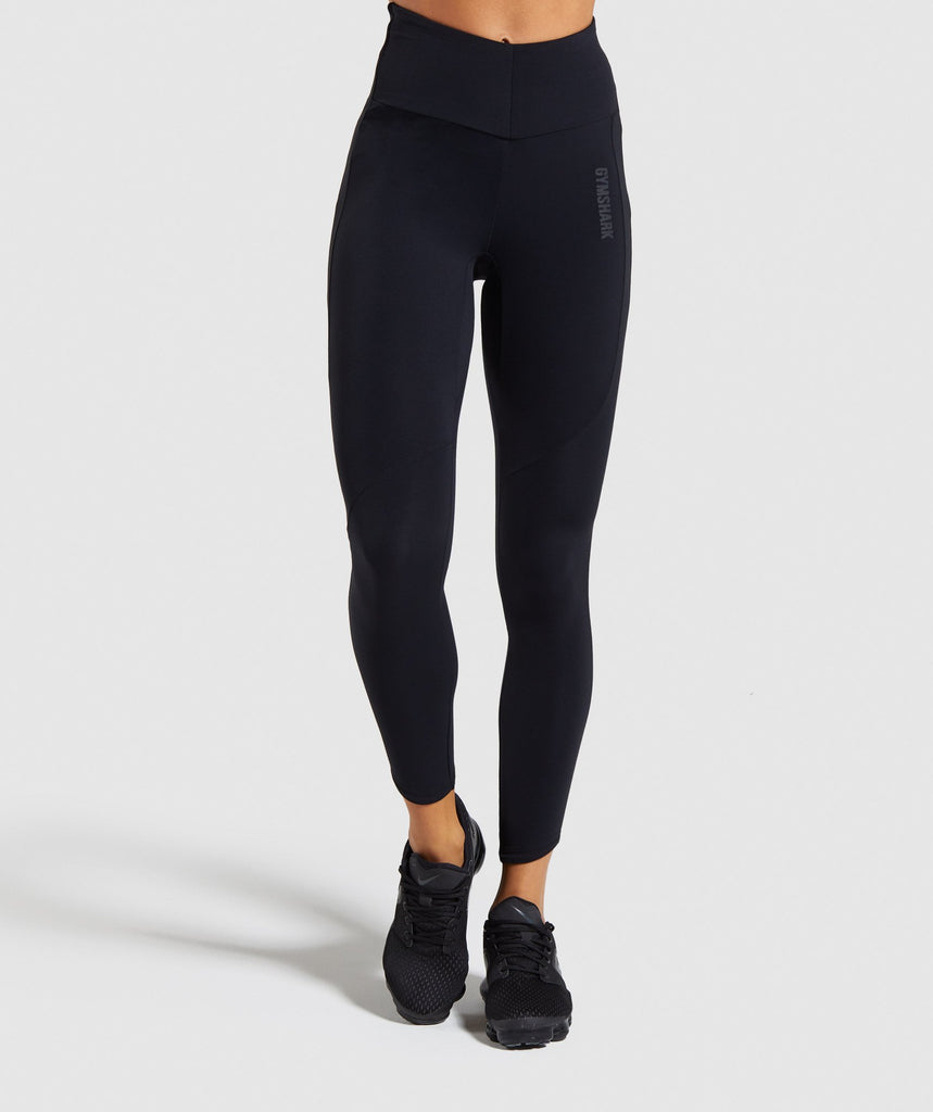 Gymshark Captivate Leggings - Black 1