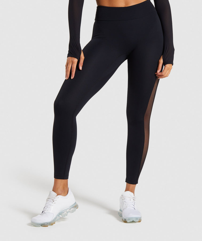Gymshark Form Leggings - Black 1