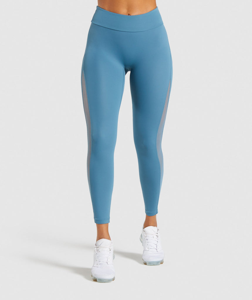 Gymshark Form Leggings - Teal 1