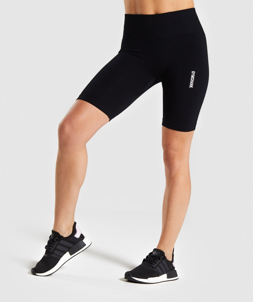 Gymshark Power Down Shorts - Black 1