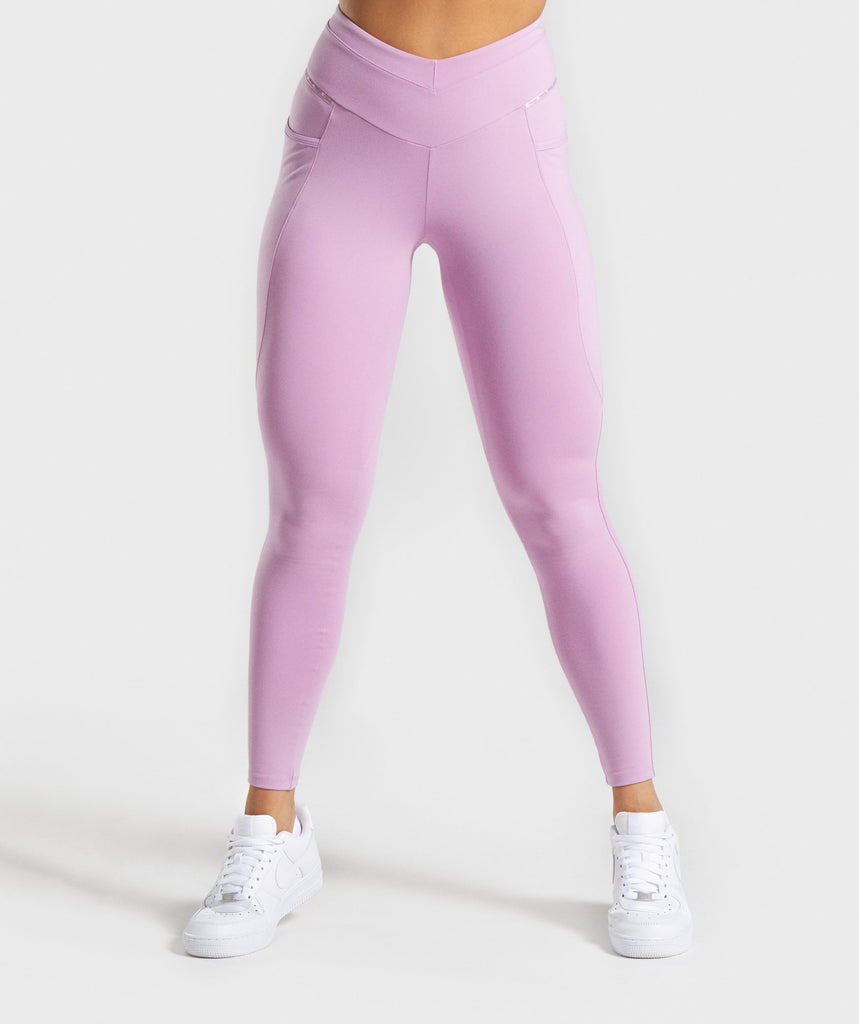 Gymshark Recess Leggings - Pink 1