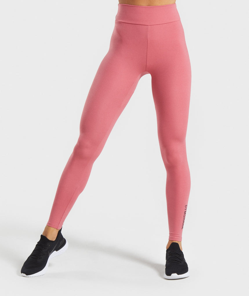 Gymshark Solo Leggings - Rose Slate 1