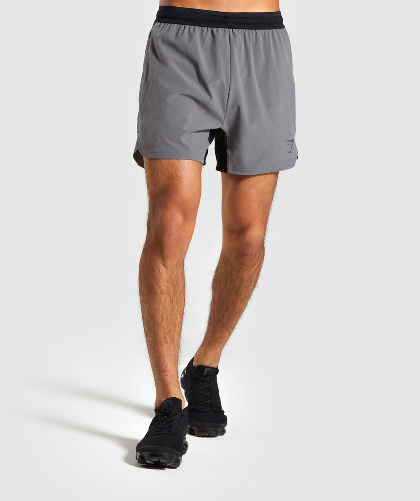 Gymshark Speed Shorts - Grey 1