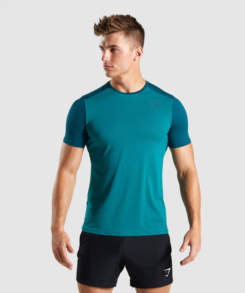 Gymshark Speed T-Shirt - Green 1