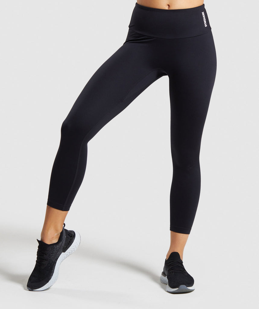 Gymshark Training 7/8 Leggings - Black 1