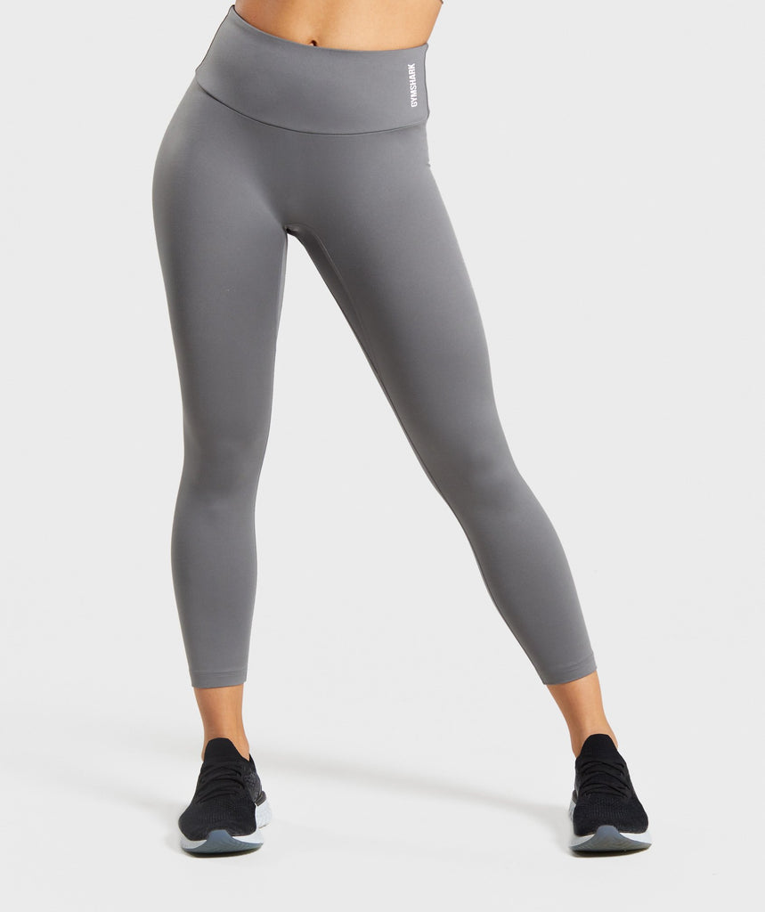 Gymshark Training 7/8 Leggings - Smokey Grey 1