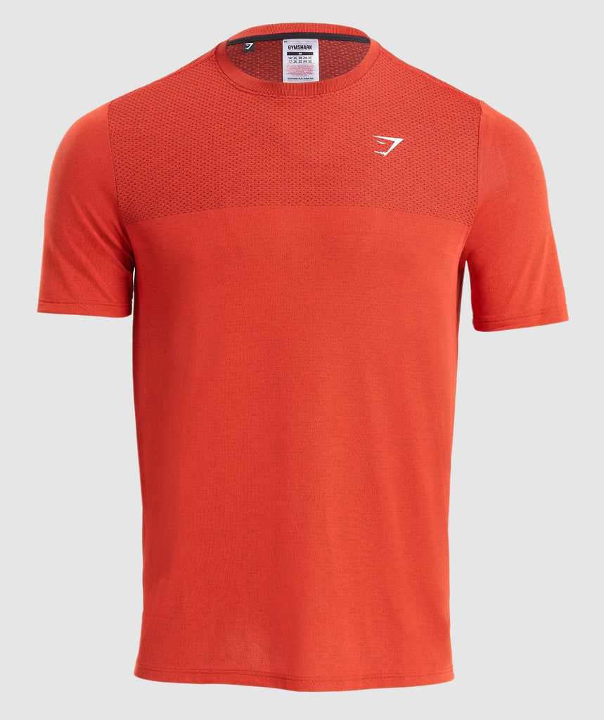 Gymshark Vital T-Shirt - Red 1