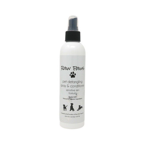 Raw Paws Pet Detangling Spray & Conditioner