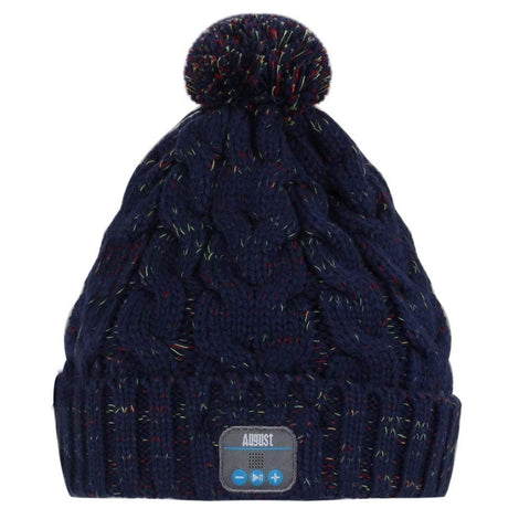 August Bluetooth Beanie Hat - Keep Your Ears Warm, Play Music Wirelessly  Blue  August  Bluetooth Beanie   iDaffodil - Consumer Electronics at Affordable Prices
