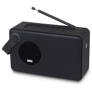 Refurbished - Bluetooth Bedside DAB Clock Radio, Wake to your Favourite DAB+ and FM Radio Stations    August  Digital Radios   iDaffodil - Consumer Electronics at Affordable Prices