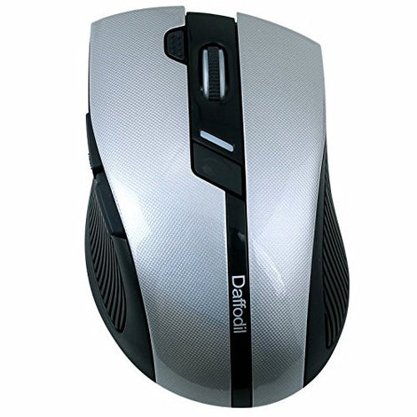 Wireless Gaming and Office Mouse - Dual Mode 6 Button Mouse with Adjustable DPI    iDaffodil  Computer Mouse   iDaffodil - Consumer Electronics at Affordable Prices