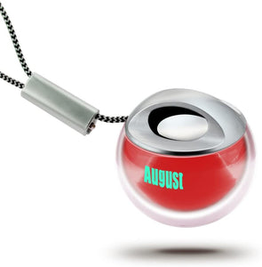 Portable Mini Speaker - Keyring Travel Speakers with Built-In Rechargeable Battery - August MS315