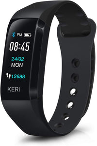 Audar Keri - Smart Healthcare and Fitness Tracker - App Enabled Smart Health Wristband with OLED Displa    Audar  Health Monitors   iDaffodil - Consumer Electronics at Affordable Prices