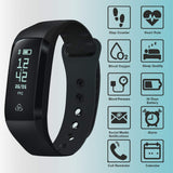 Refurbished - Smart Activity and Fitness Tracker, App Enabled Smart Health Wristband with Display    August  Health Monitors   iDaffodil - Consumer Electronics at Affordable Prices